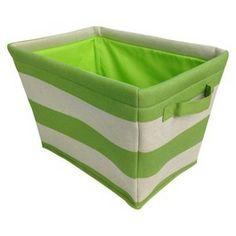 Circo™ Linen Striped Tote - Set of 2 - Green