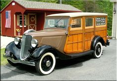 1933 FORD Deluxe Woodie Station Wagon..Re-pin brought to you by #bestrate #CarInsurance at #HouseofInsurance Eugene