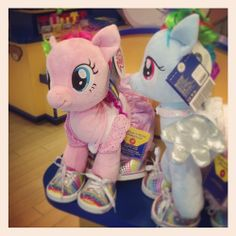 id never been to blid a bear wrok shop but i will get the pinkie pie