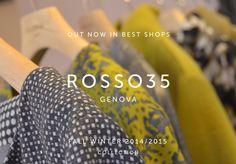 #rosso35 #genova #fashion #woman #womanswear #collection #aw1415