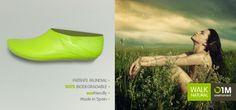 le nude appliqué à la chaussure : O1M, marque espagnole, des chaussures constituées d'une couche de latex