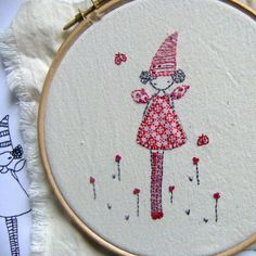 Tooth fairy Hand embroidery pattern pdf par LiliPopo sur Etsy
