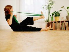 The 13 Best Resistance Band Exercises - iVillage - for when I travel