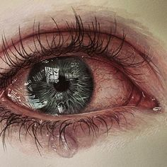 "26.5k Likes, 183 Comments - Drawing Anatomy & Art official (@drawing.anatomy.and.art) on Instagram: ""realistic crying eye drawing Artist: unknown  #art #illustration #drawing #draw #TagsForLikes…"""