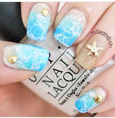 Star fish nails