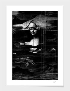 """""""Mona Lisa"""", Numbered Edition Fine Art Print by nicebleed - From $39.00 - Curioos"""