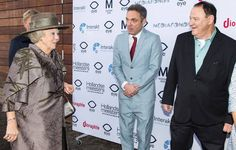 Princess Beatrix attends the premiere of the Dutch Masters