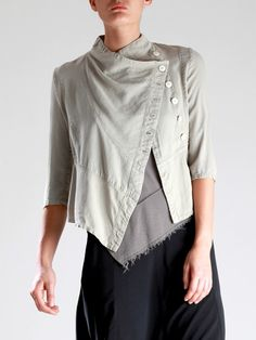 LYOCELL JACKET - JACKETS, JUMPSUITS, DRESSES, TROUSERS, SKIRTS, JERSEY, KNITWEAR, ACCESORIES - Woman -