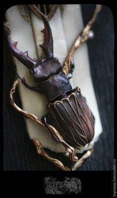 Купить Lucanus Luciferum - темно-фиолетовый, мраморный, сливовый, жук, жук-олень, насекомые