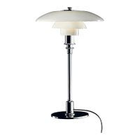 PH 3/2 Glass Table Lamp, chrome, Louis Poulsen, Poul Henningsen