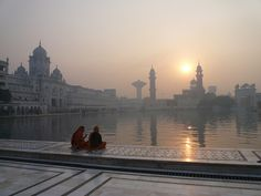 Golden Temple, Amritsar, Punjab, India. A magical spot to get away from the craziness outside.