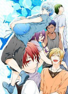Generation of Miracle / Kiseki no Sedai - Kuroko no Basuke / Kuroko's Basketball - Kuroko, Akashi, Aomine, Kise, Murasakibara, Midorima