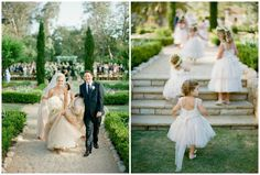 See more of this gorgeous Real Wedding here: http://www.zankyou.us/p/a-golden-family-wedding-joanne-alexs-say-i-do-in-california