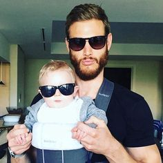 Tom Hopper and son 2016