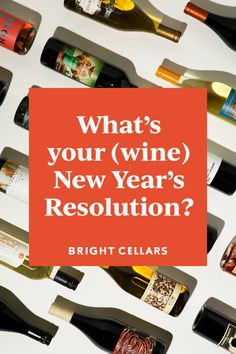 Here are 11 wine-inspired New Year's resolutions to check out for 2021. No matter if you're a beginner or seasoned wine drinker- there are always new varietals to explore, pairings to try, and flavor sensations to experience! Bright Cellars, Wine Games, Wine Guide, Is 11, Resolutions, Wine Tasting, Need To Know, Explore, Inspired