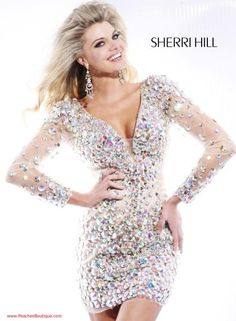 Sherri Hill Dress 2946 at Peaches Boutique