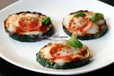 The Kitchen Whisperer Grilled Zucchini Pizza Bites