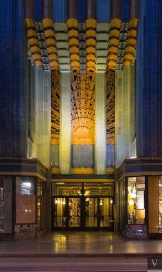 Las Vegas High School Art Deco Oɔǝp ʇɹɐ Architecture Vegas