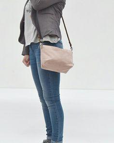 Susana bag in pale pink color. 100% algodón/cotton Instagram : berinkabags  www.berinka.bigcartel.com