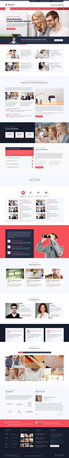 Prixomo is the best responsive multipurpose #joomla template for corporate, #agency, non-profit, freelancer or general business #website. Download Now