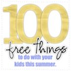 100 Free Things to do with the kids this summer - fun things for next year.
