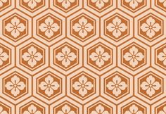 Japanese Seamless Patterns Japanese Seamless Blossom