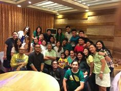 These are the alumni and the original cast of Goin' Bulilit who are now grown-up with the staff of Goin' Bulilit and Direk Edgar Mortiz smiling for the camera during the Christmas party and reunion of the original cast and alumni of Goin' Bulilit at Direk Edgar Mortiz's house in Quezon City last December 2014. Indeed, they're another of my favourite Kapamilyas, and they're amazing Star Magic talents. #SharleneSanPedro #MilesOcampo #GoinBulilit #GoinBulilitGraduates Child Actresses, Child Actors, The Reunion, Star Magic, Originals Cast, Quezon City, Group Pictures, December 2014, Filipina