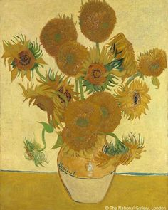 """Van Gogh Museum on Instagram: """"📝 'My mother yielded for the sake of having Vincent van Gogh well represented in the most important museum of England', wrote Vincent…"""" Vincent Van Gogh, Most Famous Paintings, Great Paintings, Paul Gauguin, Oil Painting Abstract, Diy Painting, Cactus Paint, Vase With Fifteen Sunflowers, Van Gogh Sunflowers"""