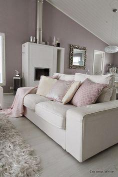 Coconut White: Ikean valkoiset Kivik - sohvat kolmen vuoden jälkeen! Living Room Inspiration, Home Decor Inspiration, Interior Exterior, Home Interior Design, White Rooms, Dream Decor, Home Furnishings, Decoration, Living Room Decor