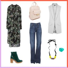 4 Ways to Get Away With Wearing Denim at the Office via Brit + Co.