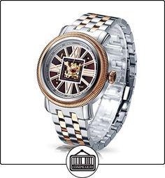 Time100 W60055G.03A W600 - Reloj pulsera mecácino para hombres de color marrón de  ✿ Relojes para hombre - (Gama media/alta) ✿