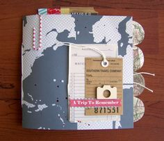 Precocious Paper: Travel Mini Album - love this album