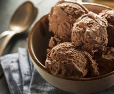 Whipped Cream, Ice Cream, Large Bowl, Condensed Milk, Chocolate, Eat, Syrup, Freezer, Chill
