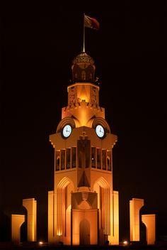 Clock Tower Roundabout Riffa Bahrain [OC] [1500x2238] http://ift.tt/2cEHzAz