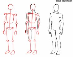 how to draw cartoon Human Body Drawing, Drawing Body Poses, Human Figure Drawing, Drawing Reference Poses, Anime Drawings Sketches, Anatomy Sketches, Body Sketches, Anatomy Drawing, Body Drawing Tutorial