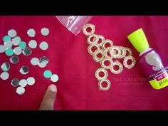 Simple mirror neck design cutting and stitching (DIY) Simple Embroidery Designs, Embroidery Patterns, Sewing Patterns, Mirror Work Blouse Design, Mirror Words, Learning To Embroider, Small Mirrors, Embroidery Techniques, Craft Stores