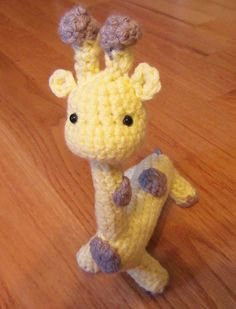 Crochet Amigurumi Giraffe Child's toy Nursery by TheComfyBaby