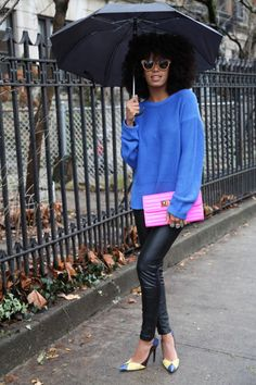 Solange Knowles has great style. She, for me, is on par with Tulsa Swinton.