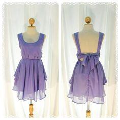Purple dress love. Repinned from Kaitlyn Michelle.