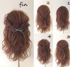 HAIR (Hair) is a hair stylist that a stylist model sends out # send out # Bea . - HAIR (Hair) is a hair stylist that a stylist model sends out # send out - Kawaii Hairstyles, Diy Hairstyles, Teenage Hairstyles, Medium Hair Styles, Curly Hair Styles, Updo Styles, Hair Arrange, Hair Color Highlights, Prom Hair