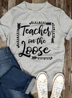 Teacher Wear, Teacher Style, Teacher Outfits, Best Teacher, Teacher Fashion, Teacher Clothes, School Spirit Shirts, School Shirts, Teaching Shirts