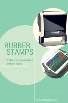 With laser engraving machines from Trotec, you can manufacture rubber stamps within minutes and also streamline series manufacturing.  Visit www.troteclaser.com to learn more.