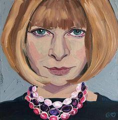 Cool Oil Painting Portraits of Models & Celebrities – Fubiz Media
