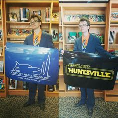 See Geek Out #Huntsville posters at various HMCPL branches around town! #ReadABook