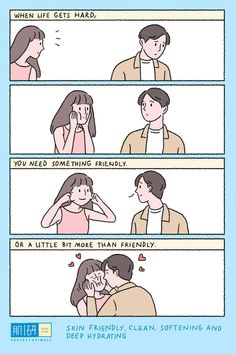 💓💓 this is enough lv story Cute Couple Comics, Cute Couple Cartoon, Couples Comics, Comics Love, Cute Couple Art, Anime Love Couple, Cute Comics, Cute Anime Couples, Cute Couple Drawings