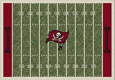 Shop for a NFL Buccaneers Home Field 5 x 8 Rug at Rooms To Go Kids. Find  that will look great in your home and complement the rest of your furniture.
