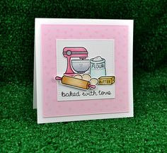 Lawn Fawn SET LF215BWL YOURE ALL I KNEAD Clear Stamps And Dies zoom image