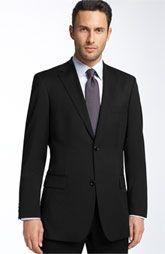 Boss Pasolini Black Virgin Wool Sportcoat by Hugo Boss Men's Business Outfits, Business Dresses, Business Attire, Business Formal, Business Professional Dress, Professional Dresses, Wedding Suits, Trendy Wedding, Wedding Dress