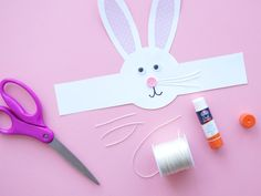 Find and shop thousands of creative projects, party planning ideas, classroom inspiration and DIY wedding projects. Bunny Crafts, Easter Crafts For Kids, Easter Hat Parade, Headband Crafts, Bunny Birthday, Toddler Art Projects, Diy Wedding Projects, Easter Bunny, Grandkids