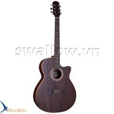 Đàn acoustic guitar swallow!